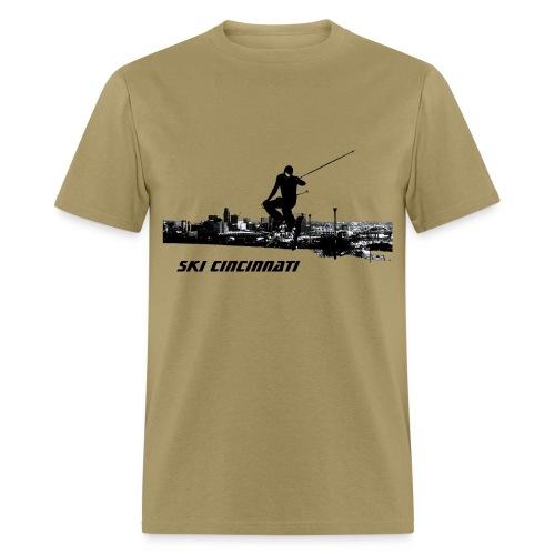 Ski Cincinnati Men's T - Men's T-Shirt