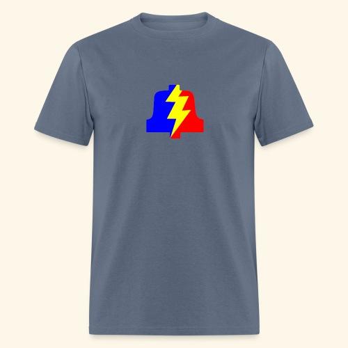 PLA logo shirt (standard) - Men's T-Shirt