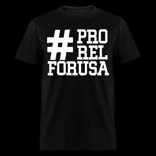 #ProRelForUSA T-shirt 2 - Men's T-Shirt