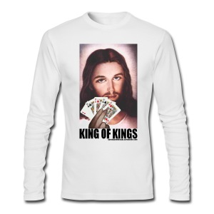 Jesus - King of Kings - Men's Long Sleeve T-Shirt by Next Level