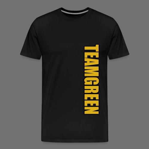 Greenish Shirt TeamGreen Gold (Mens) - Men's Premium T-Shirt