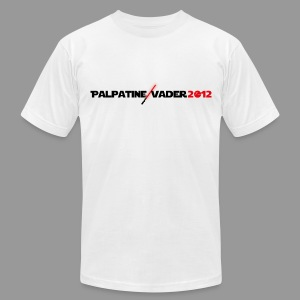 Palpatine/Vader 2012 v3 - Men's T-Shirt by American Apparel