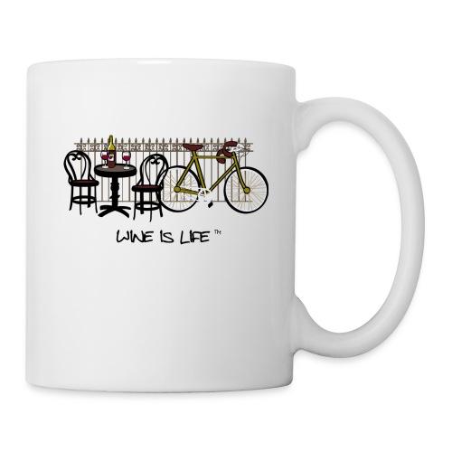 Bicycle Bistro Wine Stop - Coffee Mug - Coffee/Tea Mug