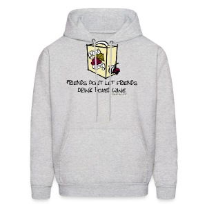 Boxed Wine - Mens Hooded Sweatshirt - Men's Hoodie