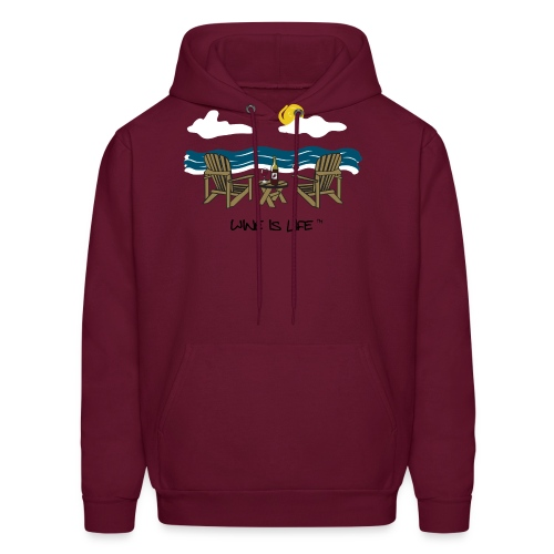Adirondack Chairs - Mens Hooded Sweatshirt - Men's Hoodie