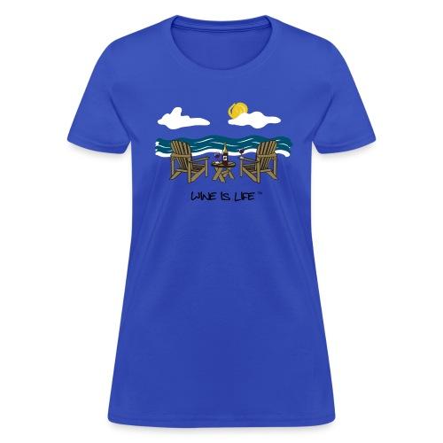 Adirondack Chairs - Womens Standard Tee - Women's T-Shirt