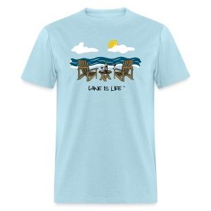 Adirondack Chairs- Mens Standard Tee - Men's T-Shirt