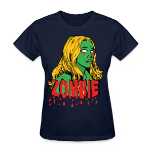 Zombie Girly - Women's T-Shirt
