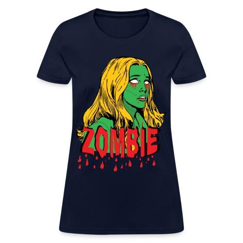 Zombie Girly - Women's T-Shirt