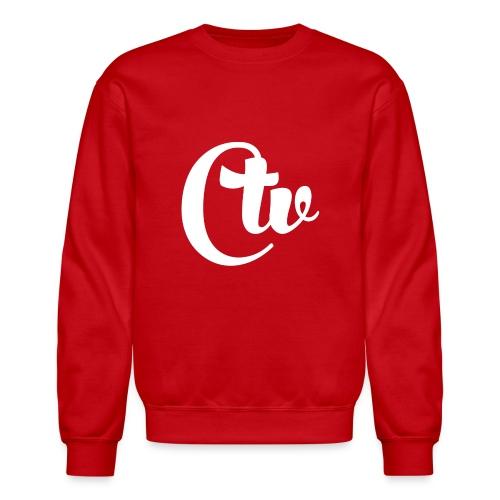 CTV(WHITE) WOMEN'S CREWNECK T-SHIRT - Crewneck Sweatshirt
