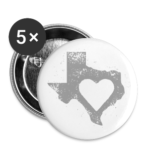 I Left My Heart in Texas Button Pack - Large Buttons