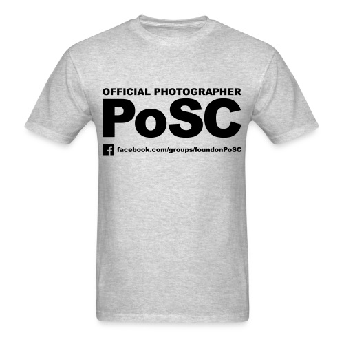 Official Photographer (Black Graphics) - Men's T-Shirt