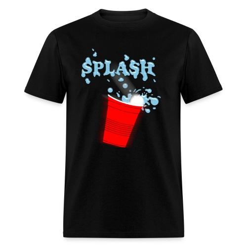 Splash - Beer Pong - Men's T-Shirt