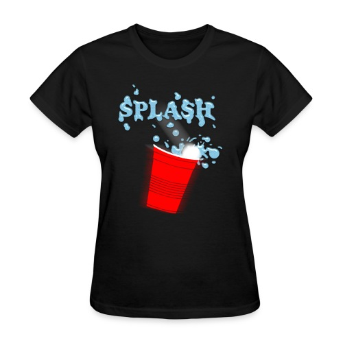 Splash - Beer Pong - Women's T-Shirt