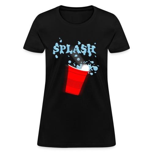 Splash - Beer Pong - Women's T-Shirt