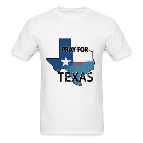 Pray for Texas - Men's T-Shirt