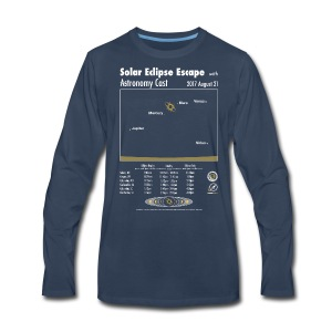 Unisex Eclipse Shirt - Men's Premium Long Sleeve T-Shirt