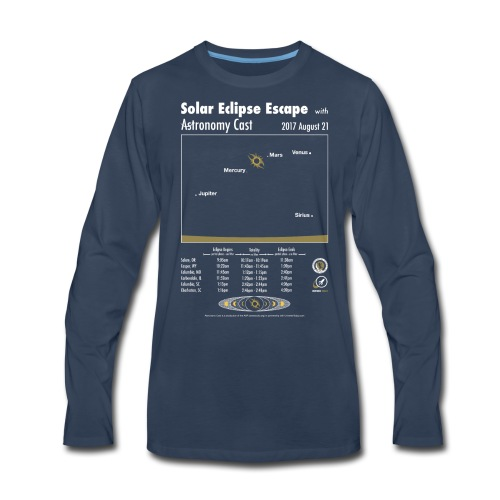 Unisex Eclipse Shirt - Men's Premium Long Sleeve T-Shirt