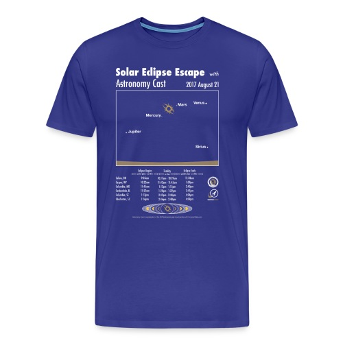 Men's Eclipse Shirt - Men's Premium T-Shirt