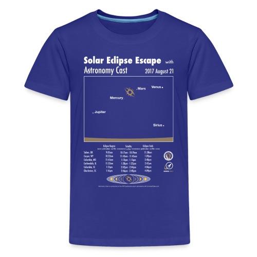 Kid's Eclipse Shirt - Kids' Premium T-Shirt