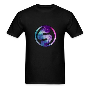 Shirt with Galaxy Logo - Men's T-Shirt