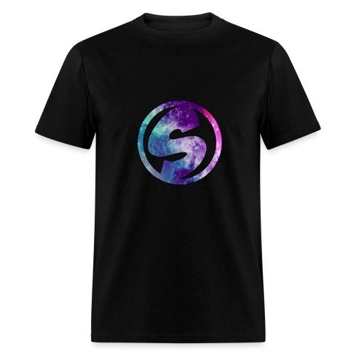 Shirt with Galaxy Logo - Men's T-Shirt