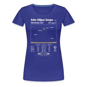 Women's Eclipse Shirt - Women's Premium T-Shirt