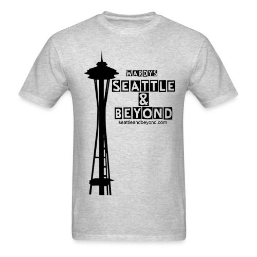 Wardys S&B Space Needle front - Men's T-Shirt