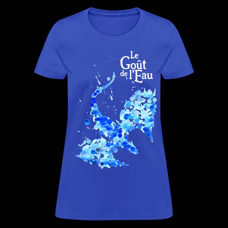 T-shirt pour femmes «Dragon liquide» - T-shirt pour femmes