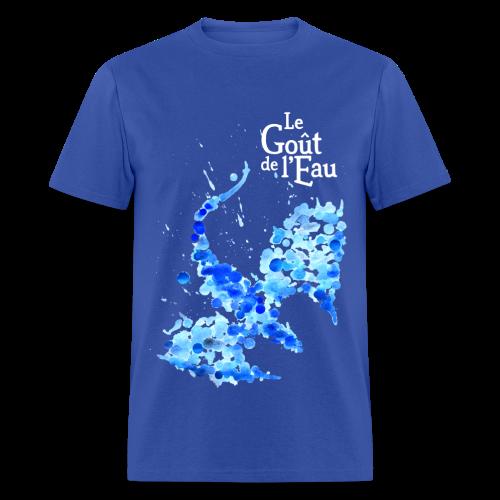 T-shirt pour hommes «Dragon liquide» - T-shirt pour hommes