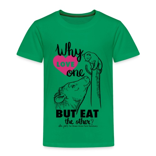 Toddler T - Why Love One? by Alba Paris Black - Toddler Premium T-Shirt