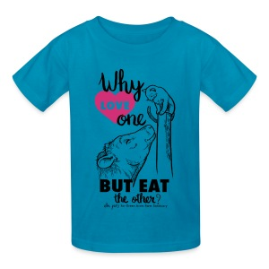 Kids T - Why Love One? by Alba Paris Black - Kids' T-Shirt