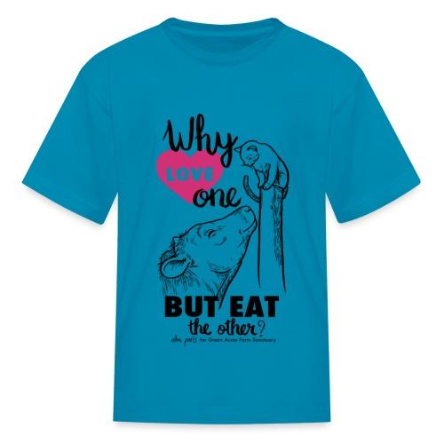 Kids T - Why Love One? by Alba Paris Black - Kids' T-Shirt