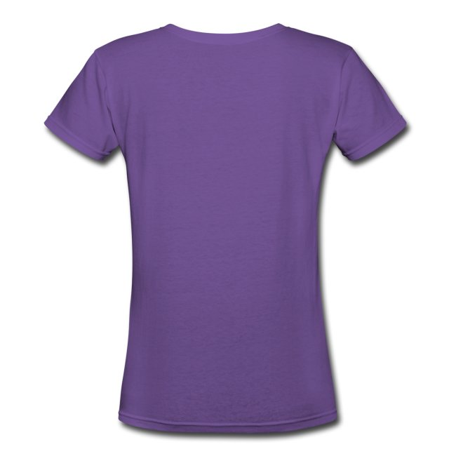 Women's Style 100% Cotton V-Neck T - Why Love One? by Alba Paris White