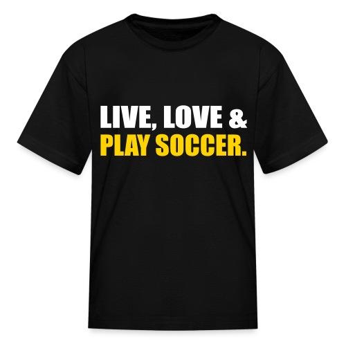 Love Soccer - Kids' T-Shirt