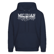 Hoodies ~ Men's Hoodie ~ My Michigan Roots
