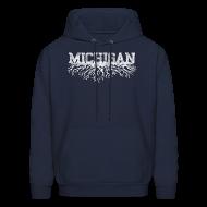 Hoodies ~ Men's Hoodie ~ My Michigan Roots