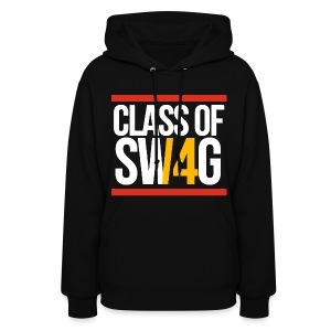 Class of SWAG14 Yellow Red - Women's Hoodie