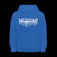 Sweatshirts ~ Kids' Hoodie ~ My Michigan Roots