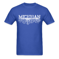 T-Shirts ~ Men's T-Shirt ~ My Michigan Roots