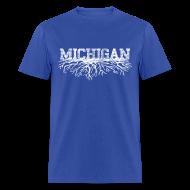 T-Shirts ~ Men's T-Shirt ~ My Michigan Roots