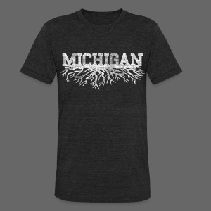 My Michigan Roots - Unisex Tri-Blend T-Shirt by American Apparel