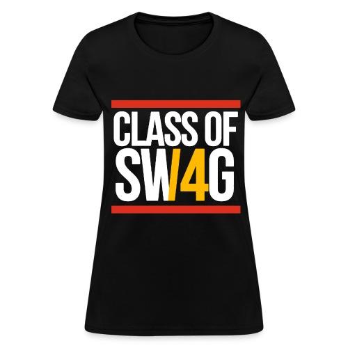 Class of SWAG14 Yellow Red - Women's T-Shirt