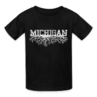 Kids' Shirts ~ Kids' T-Shirt ~ My Michigan Roots