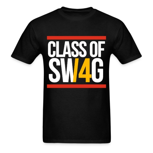 Class of SWAG14 Yellow Red - Men's T-Shirt