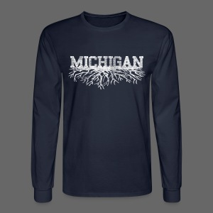 My Michigan Roots - Men's Long Sleeve T-Shirt