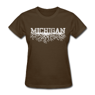 T-Shirts ~ Women's T-Shirt ~ My Michigan Roots