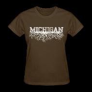 Women's T-Shirts ~ Women's T-Shirt ~ My Michigan Roots