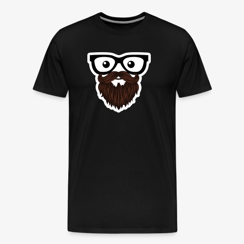 Brews Face T - Men's Premium T-Shirt