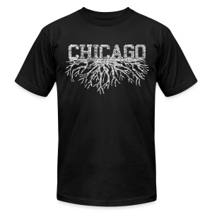 My Chicago Roots - Men's T-Shirt by American Apparel